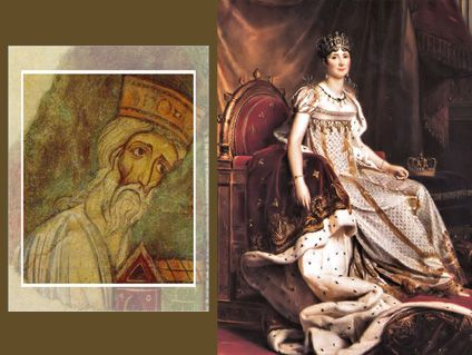 Bozon V et Joséphine de Beauharnais