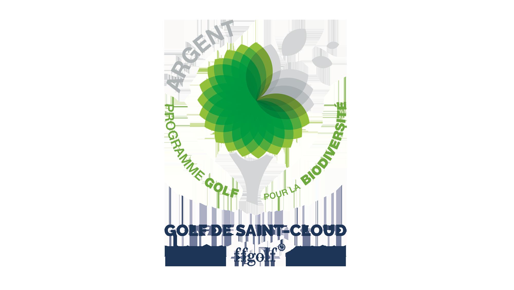 Golf de Saint-Cloud Label Biodiversité niveau Argent