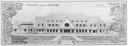 Club House of Saint-Cloud Golf Club