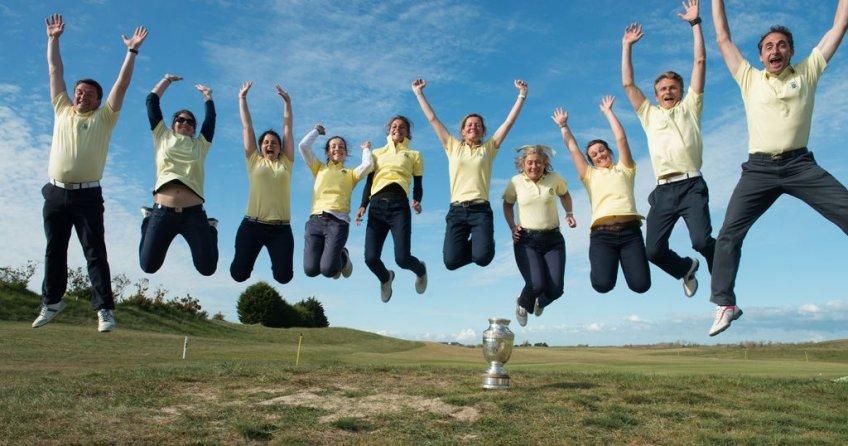 Equipe 1 - Trophée Golfer's : Saint-Cloud, champion de France par équipes en 2013